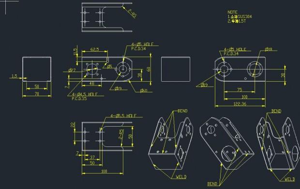 디바이스마트 레이저 가공 샘플 커스텀 서비스