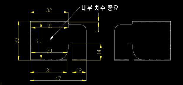 프로파일 외각 안전 가이드 02