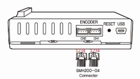 그림 3 엔코더 커넥터 연결