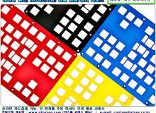 레이저가공 키보드보강대 아노다이징 29