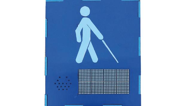최우수상 [ 시각장애인을 위한 음성 안내 버스표지판 ]